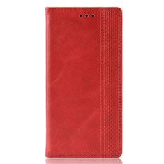 Handytasche Stand Schutzhülle Flip Leder Hülle L02 für Samsung Galaxy M30s Rot