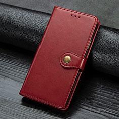 Handytasche Stand Schutzhülle Flip Leder Hülle L02 für Sony Xperia L4 Rot