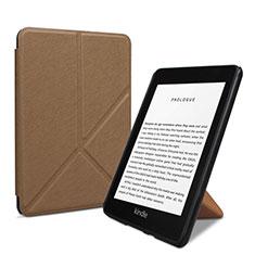 Handytasche Stand Schutzhülle Flip Leder Hülle L03 für Amazon Kindle 6 inch Braun