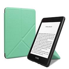 Handytasche Stand Schutzhülle Flip Leder Hülle L03 für Amazon Kindle 6 inch Grün
