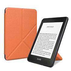 Handytasche Stand Schutzhülle Flip Leder Hülle L03 für Amazon Kindle 6 inch Orange