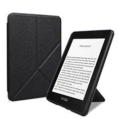 Handytasche Stand Schutzhülle Flip Leder Hülle L03 für Amazon Kindle 6 inch Schwarz