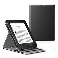 Handytasche Stand Schutzhülle Flip Leder Hülle L03 für Amazon Kindle Paperwhite 6 inch Schwarz