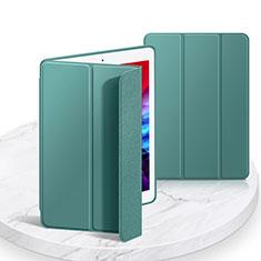 Handytasche Stand Schutzhülle Flip Leder Hülle L03 für Apple iPad 10.2 (2020) Nachtgrün