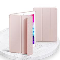 Handytasche Stand Schutzhülle Flip Leder Hülle L03 für Apple iPad 10.2 (2020) Rosa