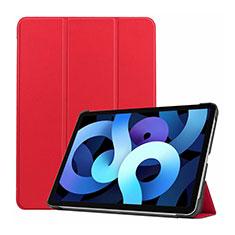 Handytasche Stand Schutzhülle Flip Leder Hülle L03 für Apple iPad Air 4 10.9 (2020) Rot