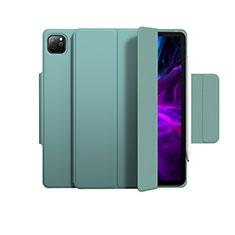 Handytasche Stand Schutzhülle Flip Leder Hülle L03 für Apple iPad Pro 12.9 (2020) Grün
