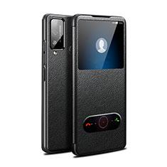 Handytasche Stand Schutzhülle Flip Leder Hülle L03 für Huawei Honor Play4T Schwarz