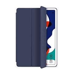 Handytasche Stand Schutzhülle Flip Leder Hülle L03 für Huawei MatePad 10.4 Blau