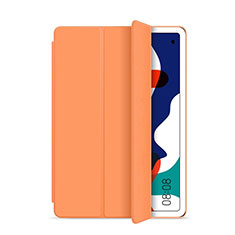 Handytasche Stand Schutzhülle Flip Leder Hülle L03 für Huawei MatePad 10.4 Orange
