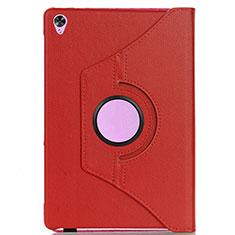 Handytasche Stand Schutzhülle Flip Leder Hülle L03 für Huawei MediaPad M6 8.4 Rot