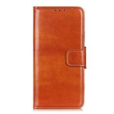 Handytasche Stand Schutzhülle Flip Leder Hülle L03 für Huawei Y7a Orange