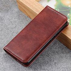 Handytasche Stand Schutzhülle Flip Leder Hülle L03 für LG Q52 Braun
