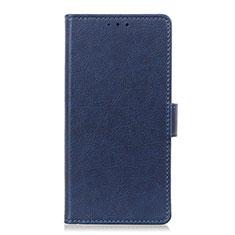 Handytasche Stand Schutzhülle Flip Leder Hülle L03 für LG Velvet 4G Blau