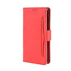 Handytasche Stand Schutzhülle Flip Leder Hülle L03 für Motorola Moto Edge Plus Rot