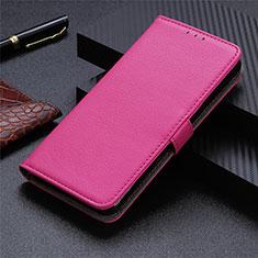 Handytasche Stand Schutzhülle Flip Leder Hülle L03 für Motorola Moto G9 Plus Pink