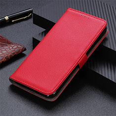 Handytasche Stand Schutzhülle Flip Leder Hülle L03 für Motorola Moto G9 Plus Rot