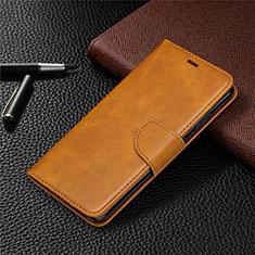 Handytasche Stand Schutzhülle Flip Leder Hülle L03 für Nokia 5.3 Orange