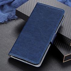 Handytasche Stand Schutzhülle Flip Leder Hülle L03 für Realme 5 Pro Blau
