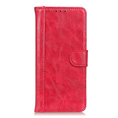Handytasche Stand Schutzhülle Flip Leder Hülle L03 für Realme Narzo 20 Pro Rot