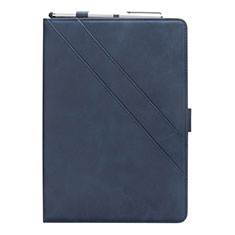 Handytasche Stand Schutzhülle Flip Leder Hülle L03 für Samsung Galaxy Tab S5e 4G 10.5 SM-T725 Blau