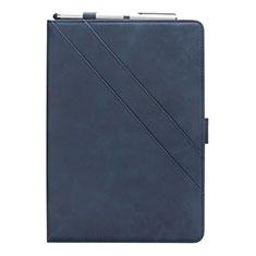 Handytasche Stand Schutzhülle Flip Leder Hülle L03 für Samsung Galaxy Tab S5e Wi-Fi 10.5 SM-T720 Blau