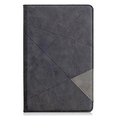 Handytasche Stand Schutzhülle Flip Leder Hülle L03 für Samsung Galaxy Tab S6 Lite 10.4 SM-P610 Schwarz