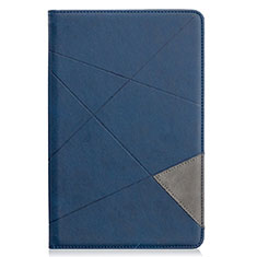 Handytasche Stand Schutzhülle Flip Leder Hülle L03 für Samsung Galaxy Tab S6 Lite 4G 10.4 SM-P615 Blau