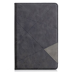 Handytasche Stand Schutzhülle Flip Leder Hülle L03 für Samsung Galaxy Tab S6 Lite 4G 10.4 SM-P615 Schwarz