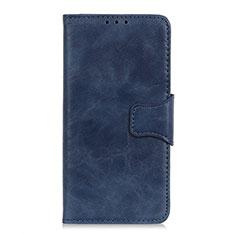Handytasche Stand Schutzhülle Flip Leder Hülle L03 für Samsung Galaxy XCover Pro Blau
