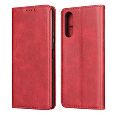 Handytasche Stand Schutzhülle Flip Leder Hülle L03 für Sony Xperia 10 II Rot