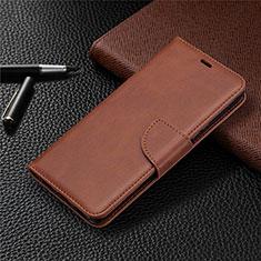Handytasche Stand Schutzhülle Flip Leder Hülle L03 für Sony Xperia L4 Braun