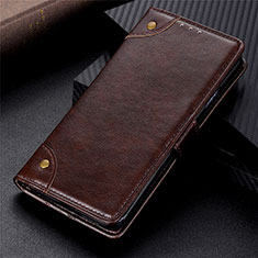 Handytasche Stand Schutzhülle Flip Leder Hülle L03 für Xiaomi Poco X3 NFC Braun