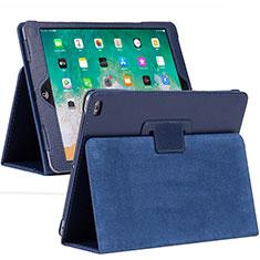 Handytasche Stand Schutzhülle Flip Leder Hülle L04 für Apple iPad 10.2 (2020) Blau