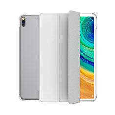 Handytasche Stand Schutzhülle Flip Leder Hülle L04 für Huawei MatePad 10.4 Weiß