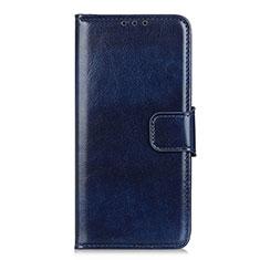 Handytasche Stand Schutzhülle Flip Leder Hülle L04 für LG Q52 Blau
