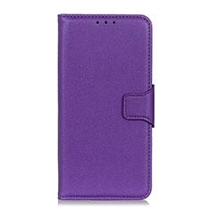 Handytasche Stand Schutzhülle Flip Leder Hülle L04 für LG Velvet 4G Violett