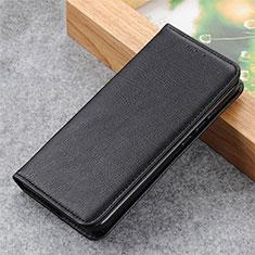 Handytasche Stand Schutzhülle Flip Leder Hülle L04 für Motorola Moto G9 Power Schwarz