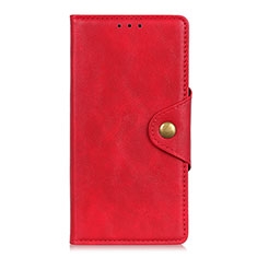 Handytasche Stand Schutzhülle Flip Leder Hülle L04 für Motorola Moto G9 Rot