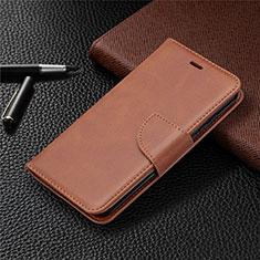 Handytasche Stand Schutzhülle Flip Leder Hülle L04 für Nokia 1.3 Braun