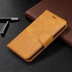Handytasche Stand Schutzhülle Flip Leder Hülle L04 für Nokia 1.3 Orange