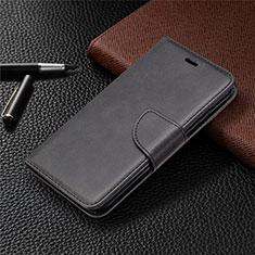 Handytasche Stand Schutzhülle Flip Leder Hülle L04 für Nokia 1.3 Schwarz