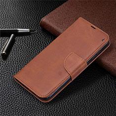 Handytasche Stand Schutzhülle Flip Leder Hülle L04 für Nokia 2.3 Braun