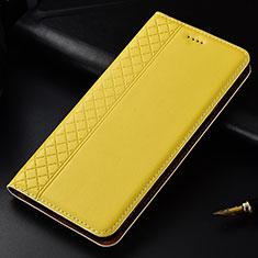 Handytasche Stand Schutzhülle Flip Leder Hülle L04 für Nokia 4.2 Gelb