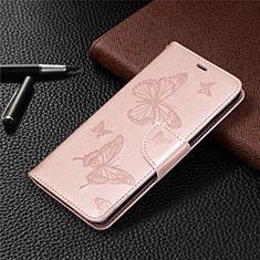 Handytasche Stand Schutzhülle Flip Leder Hülle L04 für Nokia 5.3 Rosegold