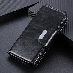 Handytasche Stand Schutzhülle Flip Leder Hülle L04 für Oppo Reno4 4G Schwarz