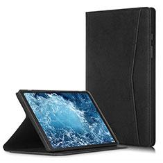 Handytasche Stand Schutzhülle Flip Leder Hülle L04 für Samsung Galaxy Tab A7 4G 10.4 SM-T505 Schwarz