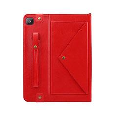 Handytasche Stand Schutzhülle Flip Leder Hülle L04 für Samsung Galaxy Tab S6 Lite 10.4 SM-P610 Rot