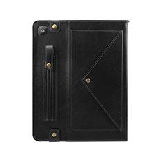 Handytasche Stand Schutzhülle Flip Leder Hülle L04 für Samsung Galaxy Tab S6 Lite 10.4 SM-P610 Schwarz