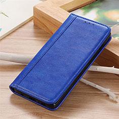 Handytasche Stand Schutzhülle Flip Leder Hülle L04 für Sharp AQUOS Sense4 Plus Blau